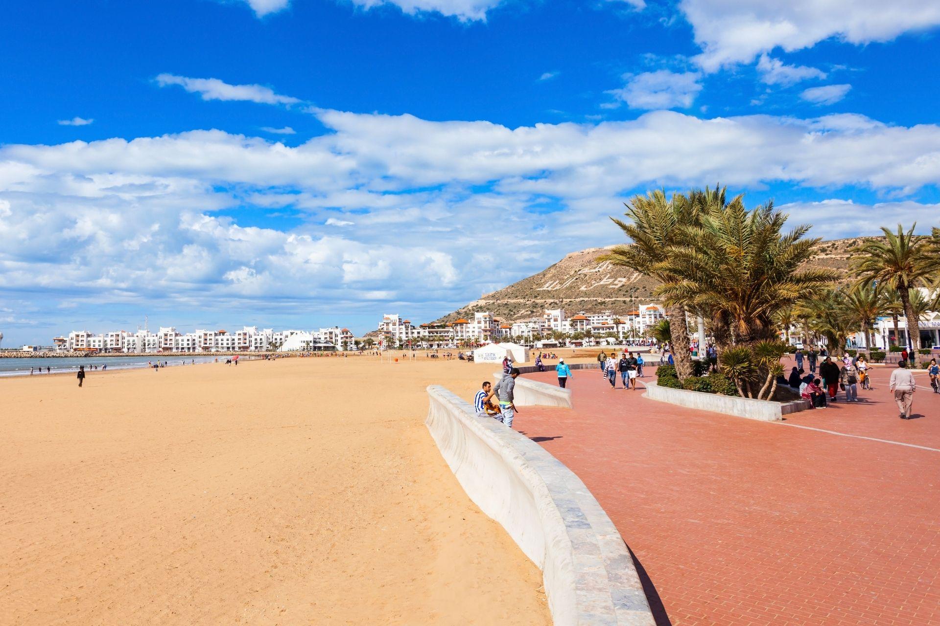Popular hotels in Agadir